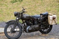 Picture motorcycle, Ariel, W/NG, British, WW2