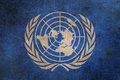 Picture flag, coat of arms, the world, UN, logo