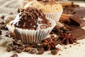 Picture Anis, cakes, dessert, sweet, cupcakes, coffee, food, chocolate, spices, grain