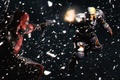 Picture Deadpool, crossover, dc comics, marvel comics, Deathstroke, anti hero