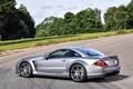 Picture Mercedes, Mercedes-Benz, AMG, SL 65, Black Series, car, auto, silver, wallpaper