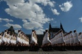 Picture military, holiday, victory day, red square, cadets, University, Russia, defense, girls, parade
