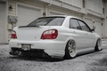 Picture White, STI, Impreza, Snow, White, Ass, Tuning, Subaru, JDM