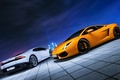 Picture Car, Photo, Lamborghini, City, Gallardo, Nigth, Moscow, Ligth, Huracan