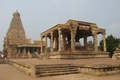 Picture temple, at thanjavur, landscape