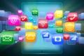 Picture technology, tablet, hi-tech, icons, program