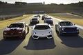 Picture race, class, track, sports cars, Chevrolet Camaro, McLaren MP4-12C, Lamborghini LP700-4 Aventador, subaru brz 2.0 ...