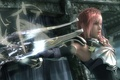 Picture weapons, feathers, lightning, final fantasy, armor, xiii