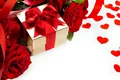 Picture red, roses, flowers, heart