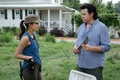 Picture The walking dead, Christian Serratos, The Walking Dead, Rosita, Dr. Eugene Porter, Josh McDermitt