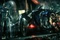 Picture Arkham Knight, Batman, Batmobile, City, Batman