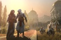 Picture Assassin's Creed, the city of Masyaf, Altair Ibn La-Ahad — assassin, the protagonist of the ...