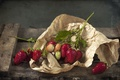 Picture berries, strawberry, paper