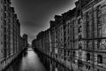 Picture home, water, Hamburg, the city, Germany