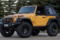 Picture jeep, wrangler, concept, Ringler, trees, the concept, the front, jeep, SUV, yellow, traildozer