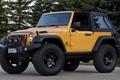 Picture trees, yellow, concept, jeep, SUV, the concept, the front, jeep, wrangler, Ringler, traildozer