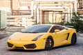 Picture Lamborghini, Gallardo, Lamborghini, yellow, Gallardo