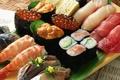 Picture caviar, food, shrimp, rolls, seafood, fish, dish