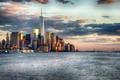 Picture USA, the city, the ocean, New York, bridge, sea