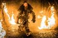 Picture fire, armor, fantasy, axe, VIN Diesel, adventure, action, Vin Diesel, The Last Witch Hunter, Kaulder, ...