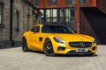 Picture Mercedes-Benz, AMG, Yellow, 2015, GT S