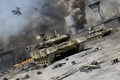 Picture war, t-90, fighting, Russian tanks