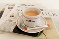 Picture coffee, Newspapers, good morning