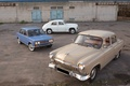 Picture machine, retro, Wallpaper, USSR, gas, cars, VAZ