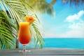 Picture fruit, paradise, drink, beach, beach, cocktail, sea, sea, cocktail, fruit, summer, tropical, fresh