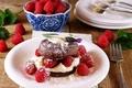 Picture cake, cream, food, cake, dessert, dessert, sweet, raspberries, raspberry, food, cake, cream