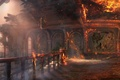 Picture Uncharted 3: Drake's Deception, Game, Fire, Naughty Dog