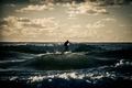 Picture sea, people, Board, sport