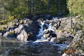 Picture Russia, thresholds, Karelia, Ruskealski waterfall