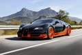 Picture Bugatti, Bugatti, Veyron, Veyron, Orange, Speed, Super, Sport, Supercar, Rear