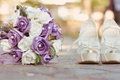 Picture Flowers, bouquet, ring, shoes, wedding