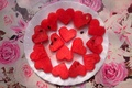 Picture red, hearts, fruit, watermelon, feed, seed