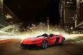 Picture Aventador J, Lamborghini, night, Lamborghini, supercar, the city