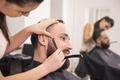 Picture barber, hairdresser
