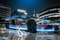 Picture Crystal, el Tony Cars, Neon, City, Aventador, Blue
