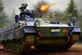 Picture figure, Rheinmetall, the Bundeswehr, BMP, Marder, German infantry fighting vehicle, fire