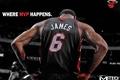 Picture James, NBA, MVP, Miami Heat