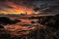 Picture sea, nature, clouds, the sky, landscape, sunset