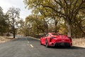 Picture rear view, road, trees, Toyota, Wallpaper, FT-1, auto, Concept