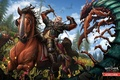 Picture White Wolf, Wild Hunt, art, sword, White One, The Witcher Wild Hunt: Blood and Wine, ...