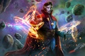 Picture fiction, art, marvel comics, benedict cumberbatch, Doctor Strange