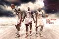 Picture Miami, Sport, Basketball, Miami, Nike, NBA, LeBron James, Heat, Hit, Three, LeBron James