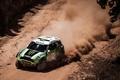 Picture Dust, Green, Speed, Mini Cooper, Rally, Dakar, MINI, Mini Cooper, X-raid