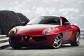 Picture Flying Disc, red, Touring, the front, machine, Alfa Romeo, lights