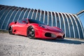 Picture red, f430, red, Ferrari, the sky, ferrari, shadow, F430