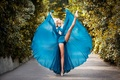 Picture alley, ballerina, dance, Pointe shoes, dress